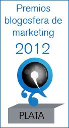 Medalla Plata Blogosfera Marketing 2012
