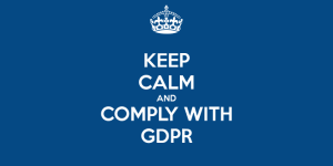 Keep Calm and GDPR